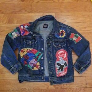 Gap Boys Superhero Denim Jacket